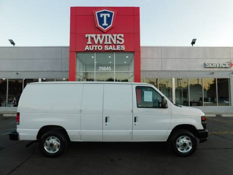 2013 Ford E-Series Cargo for sale at Twins Auto Sales Inc Redford 1 in Redford MI