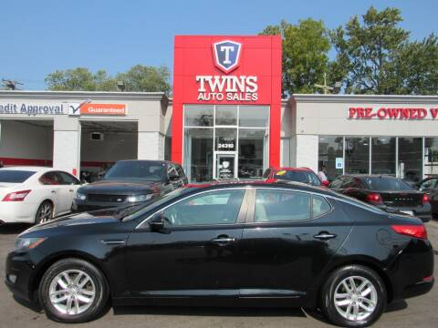 2012 Kia Optima for sale at Twins Auto Sales Inc - Detroit in Detroit MI