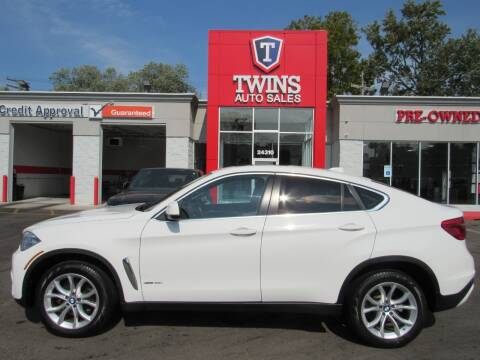 2016 BMW X6 for sale at Twins Auto Sales Inc - Detroit in Detroit MI