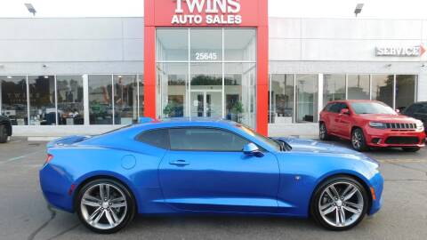 2018 Chevrolet Camaro for sale at Twins Auto Sales Inc Redford 1 in Redford MI