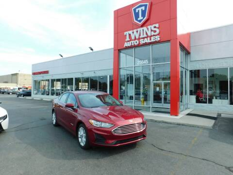 2019 Ford Fusion Hybrid for sale at Twins Auto Sales Inc Redford 1 in Redford MI