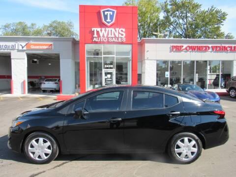 2020 Nissan Versa for sale at Twins Auto Sales Inc - Detroit in Detroit MI