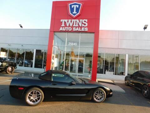 2000 Chevrolet Corvette for sale at Twins Auto Sales Inc Redford 1 in Redford MI