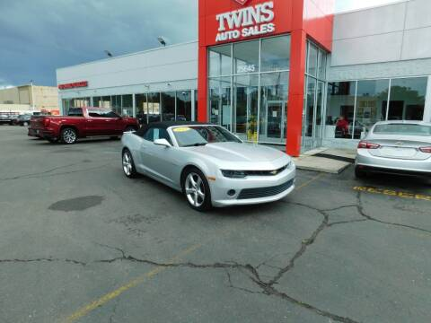 2015 Chevrolet Camaro for sale at Twins Auto Sales Inc Redford 1 in Redford MI