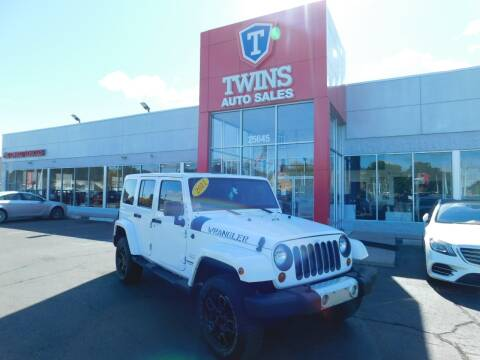 2011 Jeep Wrangler Unlimited for sale at Twins Auto Sales Inc Redford 1 in Redford MI