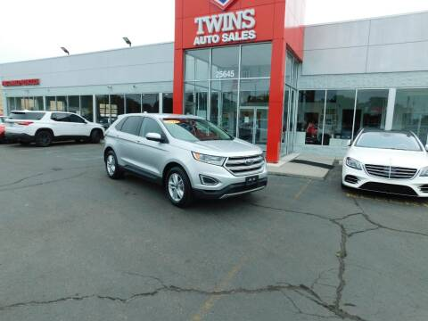 2018 Ford Edge for sale at Twins Auto Sales Inc Redford 1 in Redford MI