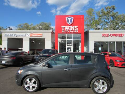 2015 Chevrolet Sonic for sale at Twins Auto Sales Inc - Detroit in Detroit MI