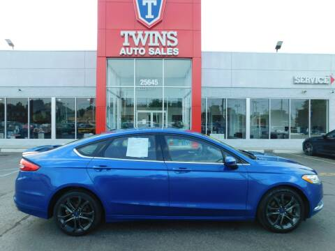 2018 Ford Fusion for sale at Twins Auto Sales Inc Redford 1 in Redford MI