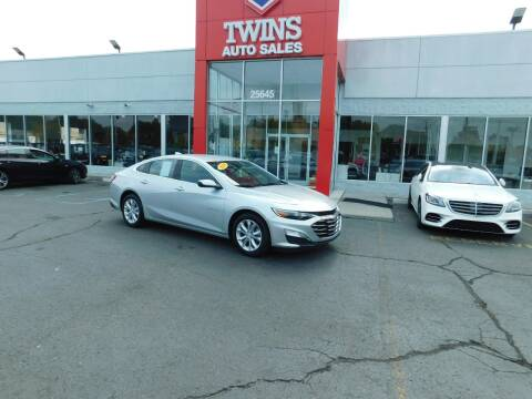 2019 Chevrolet Malibu for sale at Twins Auto Sales Inc Redford 1 in Redford MI