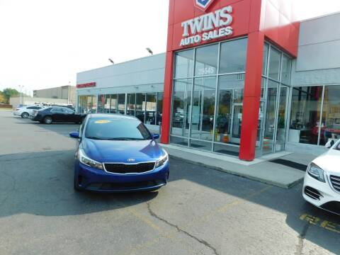 2018 Kia Forte for sale at Twins Auto Sales Inc Redford 1 in Redford MI