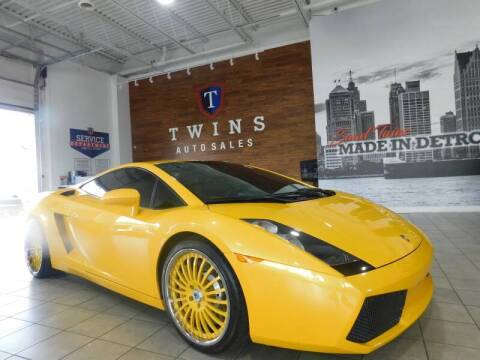 2005 Lamborghini Gallardo for sale at Twins Auto Sales Inc Redford 1 in Redford MI