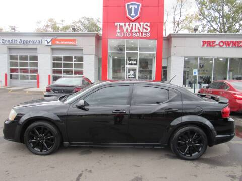 2014 Dodge Avenger for sale at Twins Auto Sales Inc - Detroit in Detroit MI