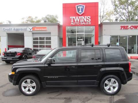 2015 Jeep Patriot for sale at Twins Auto Sales Inc - Detroit in Detroit MI