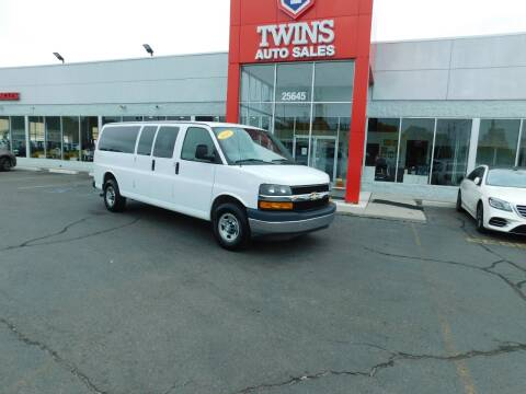 2017 Chevrolet Express Passenger for sale at Twins Auto Sales Inc Redford 1 in Redford MI
