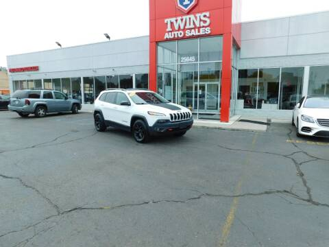 2016 Jeep Cherokee for sale at Twins Auto Sales Inc Redford 1 in Redford MI