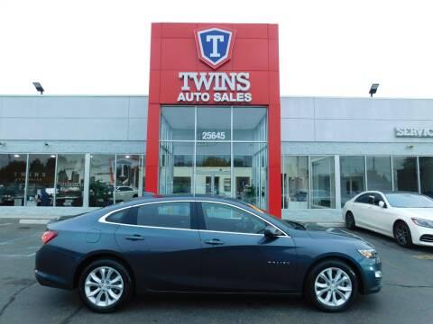 2020 Chevrolet Malibu for sale at Twins Auto Sales Inc Redford 1 in Redford MI