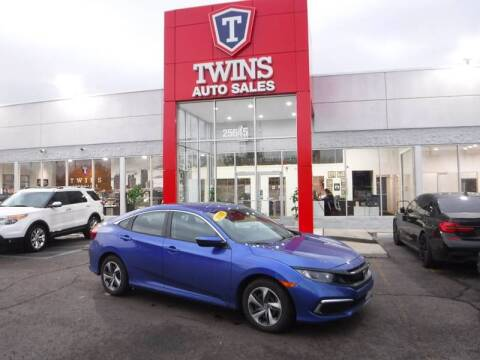 2019 Honda Civic for sale at Twins Auto Sales Inc Redford 1 in Redford MI