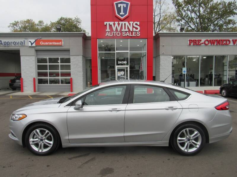 2018 Ford Fusion for sale at Twins Auto Sales Inc - Detroit in Detroit MI