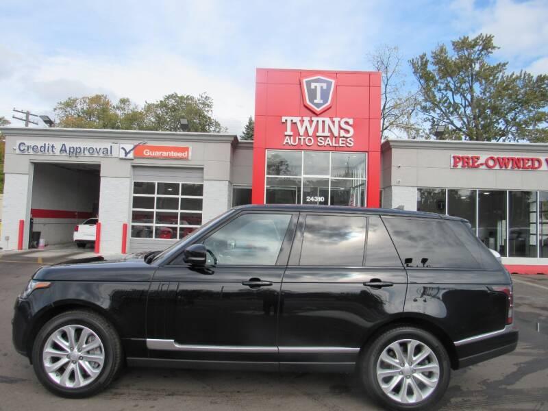 2016 Land Rover Range Rover for sale at Twins Auto Sales Inc - Detroit in Detroit MI