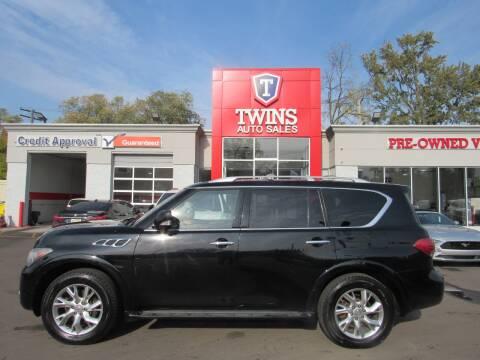 2013 Infiniti QX56 for sale at Twins Auto Sales Inc - Detroit in Detroit MI