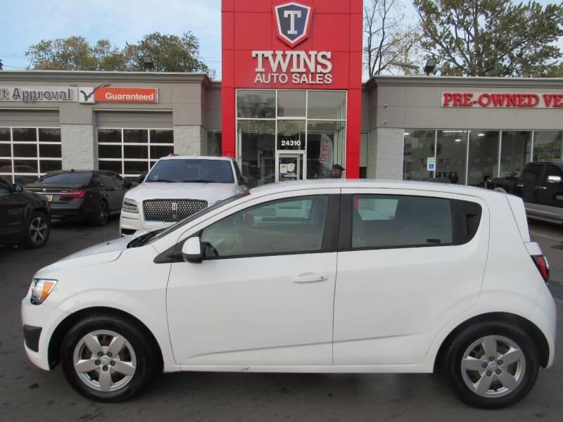 2015 Chevrolet Sonic for sale at Twins Auto Sales Inc - Detroit in Detroit MI