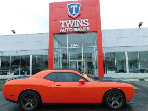 2017 Dodge Challenger for sale at Twins Auto Sales Inc Redford 1 in Redford MI