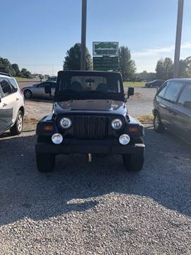 1998 Jeep Wrangler for sale in Athens, TN