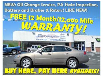2006 Chevrolet Impala for sale in Bedford, PA