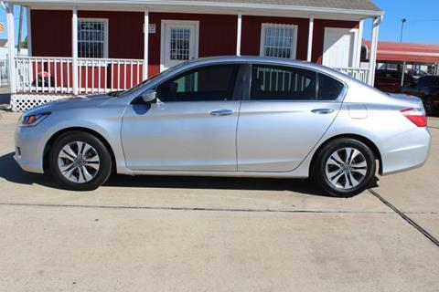 2015 Honda Accord for sale in Houston, TX