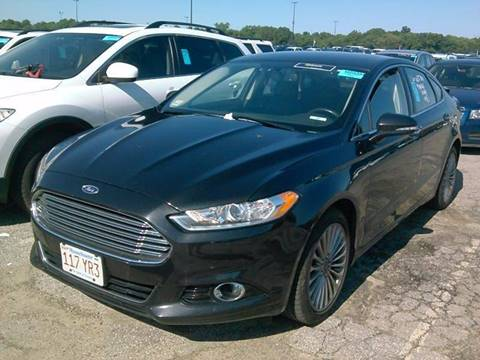 2014 Ford Fusion for sale at Broadway Motorcars in Somerville MA