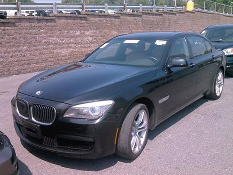 2012 BMW 7 Series for sale at Broadway Motorcars in Somerville MA