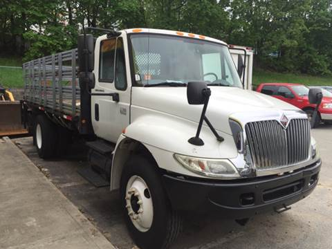 2003 International 4200 S/A Flatbed Truck for sale in Somerville, MA