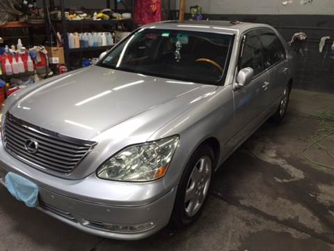 2005 Lexus LS 430 for sale at Broadway Motorcars in Somerville MA