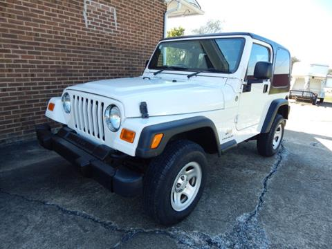 2005 Jeep Wrangler For Sale In Shelbyville, TN