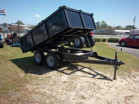 2017 ROCKET CITY 6x10DUMP for sale at Sanders Motor Company in Goldsboro NC