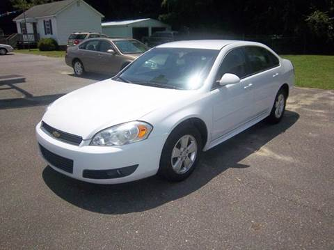 2011 Chevrolet Impala for sale at Sanders Motor Company in Goldsboro NC