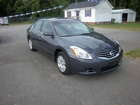 2011 Nissan Altima for sale at Sanders Motor Company in Goldsboro NC