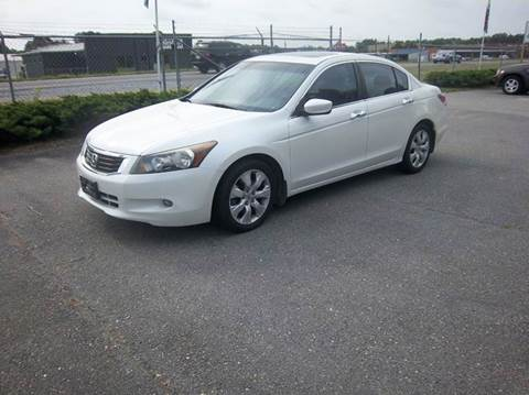 2008 Honda Accord for sale at Sanders Motor Company in Goldsboro NC