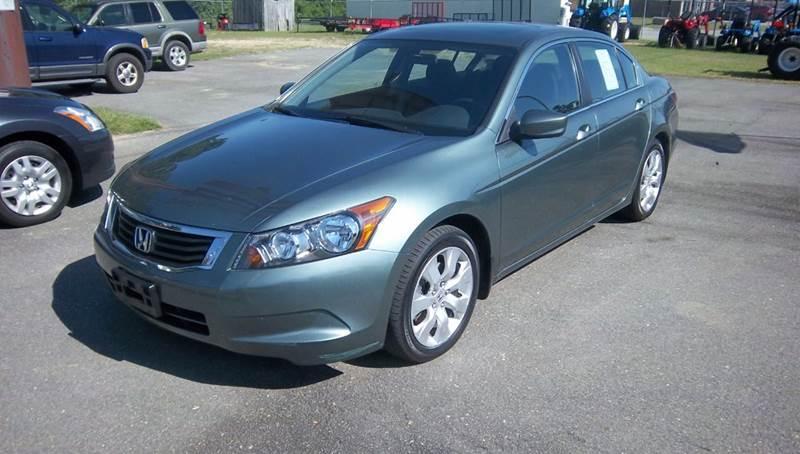 2008 Honda Accord for sale at Sanders Motor Company in Goldsboro NC