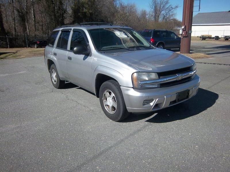 2005 Chevrolet TrailBlazer for sale at Sanders Motor Company in Goldsboro NC