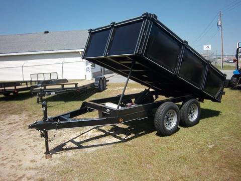 2020 P & T 6x12DUMP for sale at Sanders Motor Company in Goldsboro NC