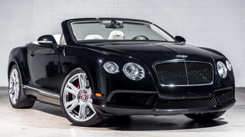 2013 Bentley Continental GTC V8 for sale in Birmingham, MI