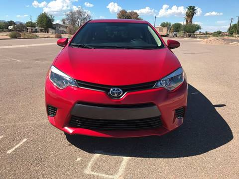2015 Toyota Corolla for sale in Maricopa, AZ