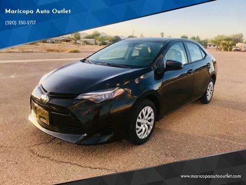 2018 Toyota Corolla for sale in Maricopa, AZ