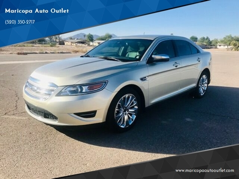2011 Ford Taurus for sale at Maricopa Auto Outlet in Maricopa AZ