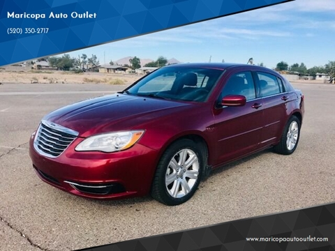 2013 Chrysler 200 for sale at Maricopa Auto Outlet in Maricopa AZ