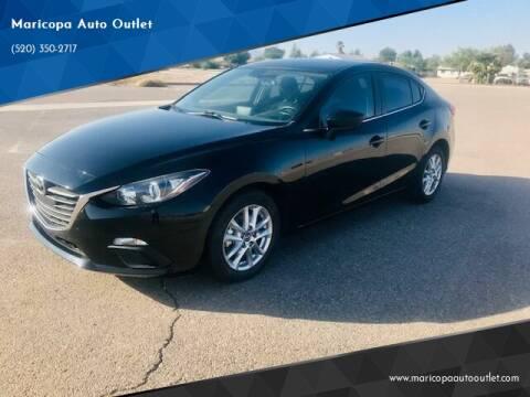2016 Mazda MAZDA3 for sale at Maricopa Auto Outlet in Maricopa AZ
