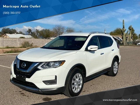 2017 Nissan Rogue for sale at Maricopa Auto Outlet in Maricopa AZ