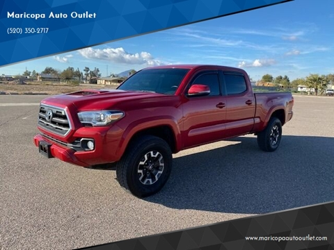 2016 Toyota Tacoma for sale at Maricopa Auto Outlet in Maricopa AZ