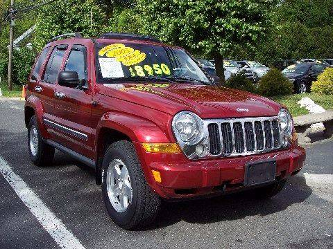 2005 Jeep Liberty for sale at Motor Pool Operations in Hainesport NJ